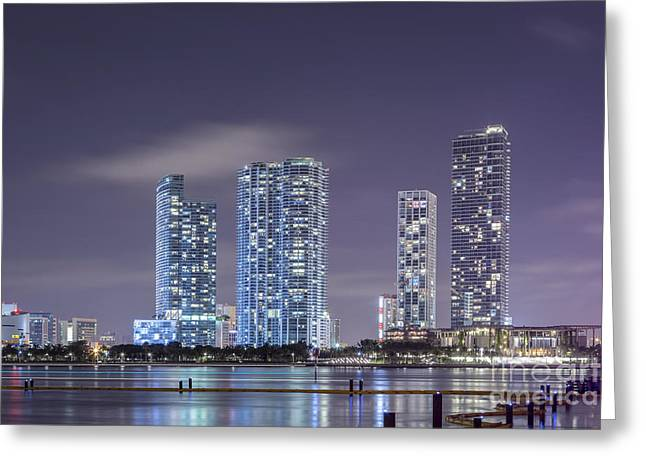 Miami Photographs Greeting Cards - Reach For The Stars Greeting Card by Evelina Kremsdorf