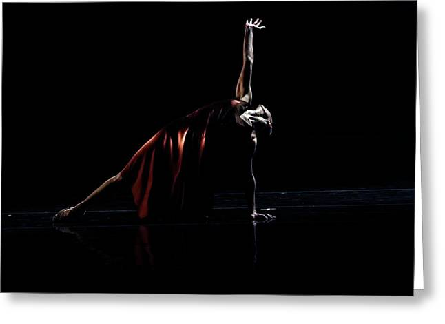 Ballet Dancers Greeting Cards - Reach for the Stars Greeting Card by Lone  Dakota Photography