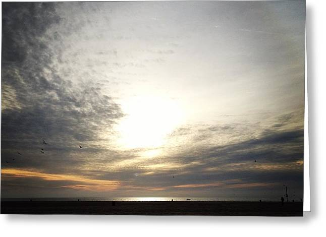 Sunset Greeting Cards Greeting Cards - Reach The Light  Greeting Card by Rony Shemtov
