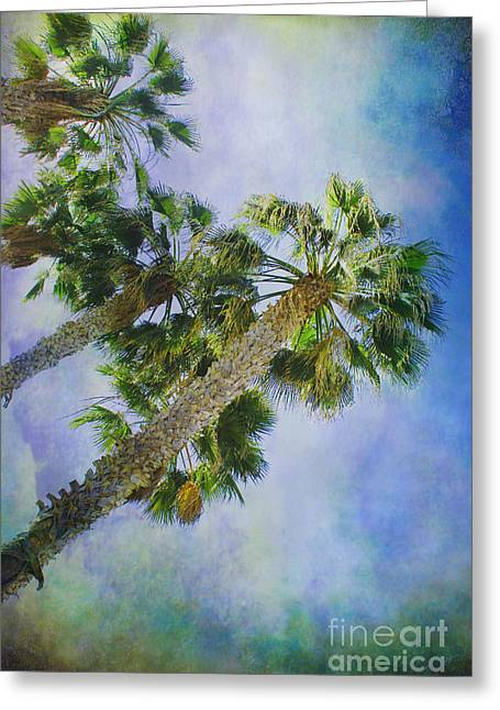 Reaching For Heaven Greeting Cards - Reaching Heaven 2 Greeting Card by Claudia  Ellis