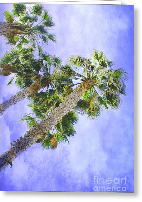 Reaching For Heaven Greeting Cards - Reaching Heaven Greeting Card by Claudia  Ellis
