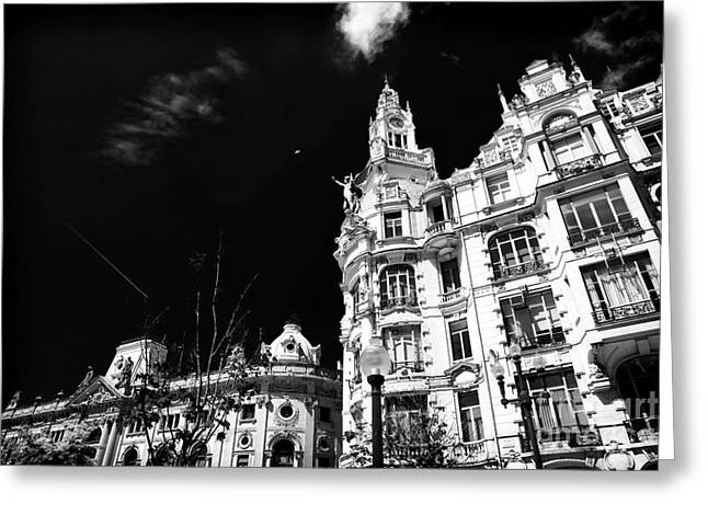 Reach Greeting Cards - Reaching High in Porto Greeting Card by John Rizzuto