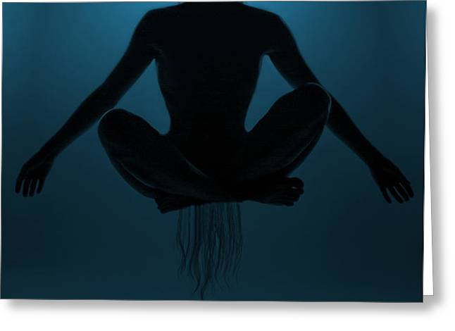 Reaching Nirvana.. Greeting Card by Nina Stavlund