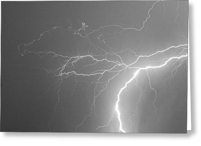Storm Prints Photographs Greeting Cards - Reaching Out Touching Me Touching You BW Greeting Card by James BO  Insogna