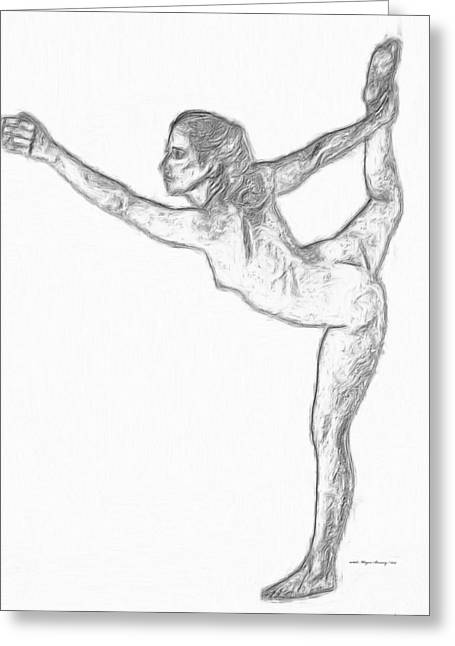 Artist Statements Greeting Cards - Reaching Out Greeting Card by Wayne Bonney