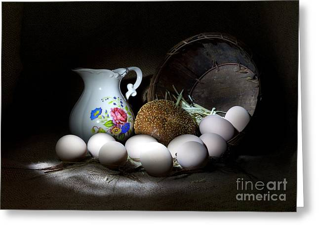 Cecil Fuselier Greeting Cards - Ready for Breakfast Greeting Card by Cecil Fuselier