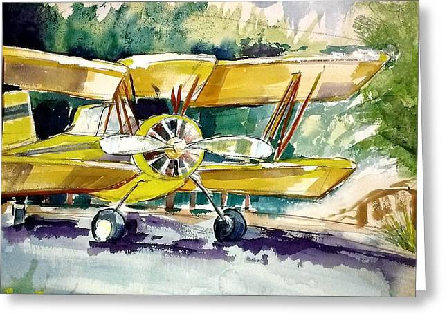 Ready To Go Greeting Card by Suzanne Willis