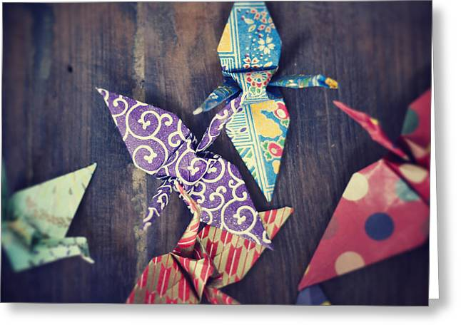 Greeting Cards - Ready to soar Greeting Card by Ivy Ho