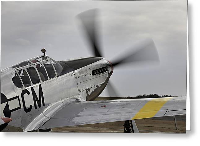 Ww Ii Greeting Cards - Ready to Taxie Greeting Card by M K  Miller