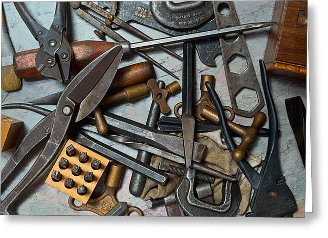 True Tool Greeting Cards - Ready to Work 1 Greeting Card by Kevin Eatinger