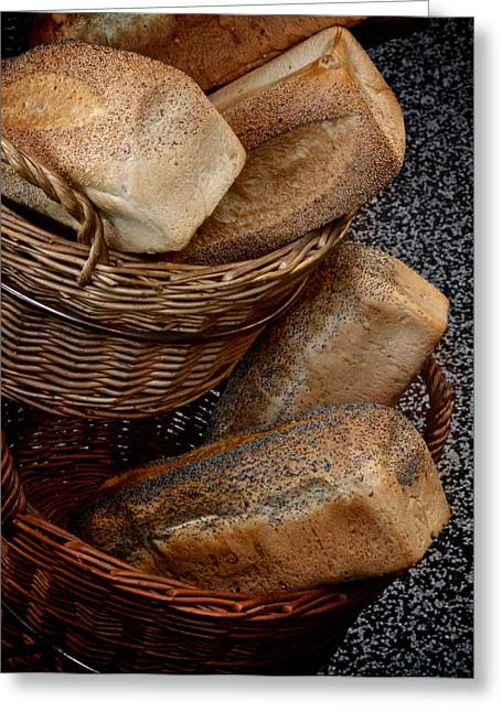 Bread Loaf Greeting Cards - Real Bread Greeting Card by Odd Jeppesen