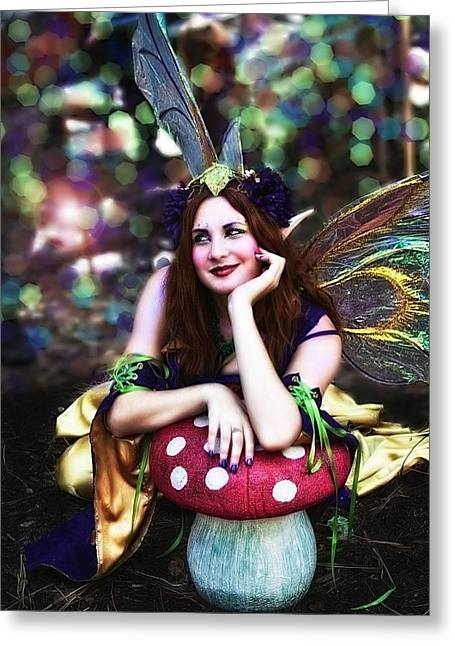 Beleive Greeting Cards - Reality of Dreams Greeting Card by Regina  Williams