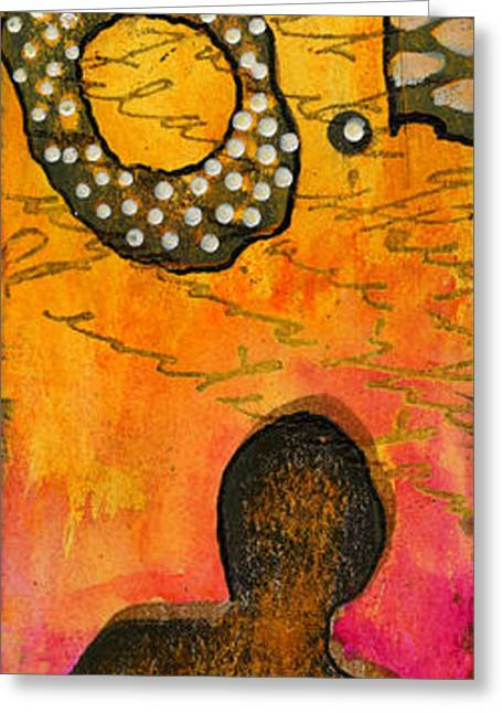 Survivor Art Greeting Cards - Really? Greeting Card by Angela L Walker