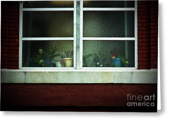 Keeper Of The Plains Greeting Cards - Rear Window Greeting Card by Fred Lassmann