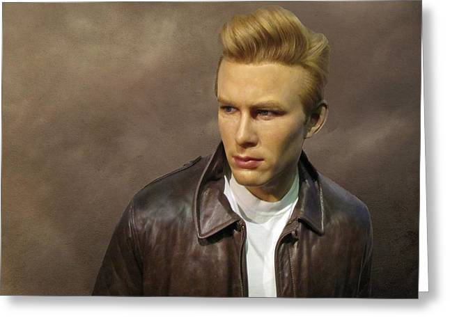 Rebel Without A Cause Greeting Card by David Dehner