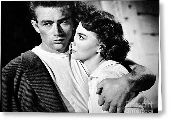 Choreographer Greeting Cards - Rebel Without a Cause Greeting Card by Movie Star News