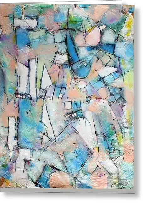 Rebirth Of Wonder   Greeting Card by Hari Thomas