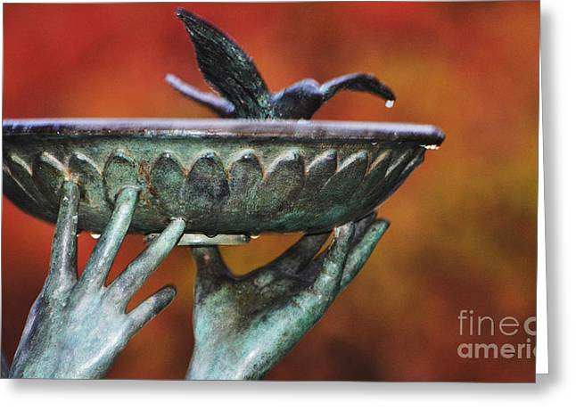Patina Digital Art Greeting Cards - Receive Greeting Card by AdSpice Studios