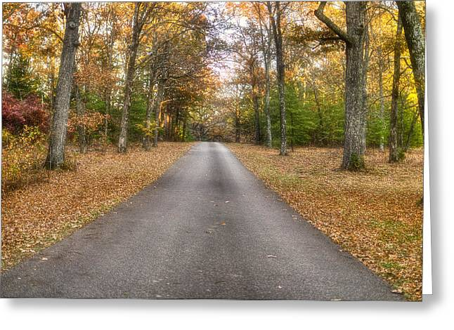 Landing Place Greeting Cards - Reconnoitering Rd Greeting Card by Mike Talplacido