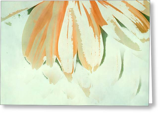 Fall Photos Mixed Media Greeting Cards - Reconstructed Flower No.1 Greeting Card by Bonnie Bruno