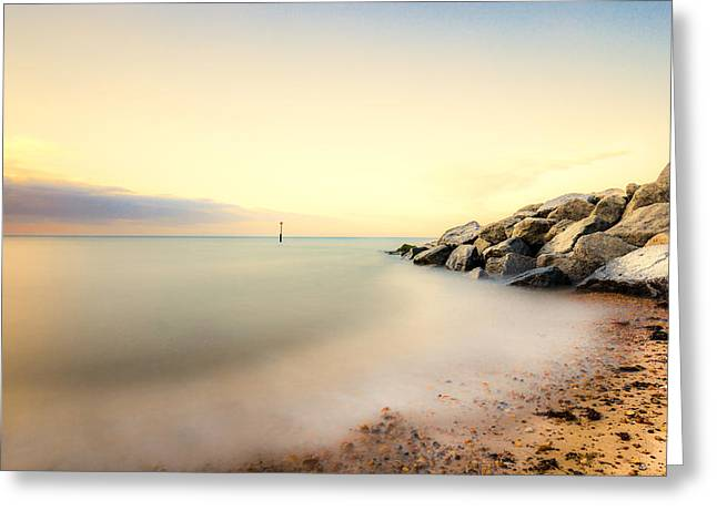 Ken Greeting Cards - Reculver Dreams Greeting Card by Ian Hufton