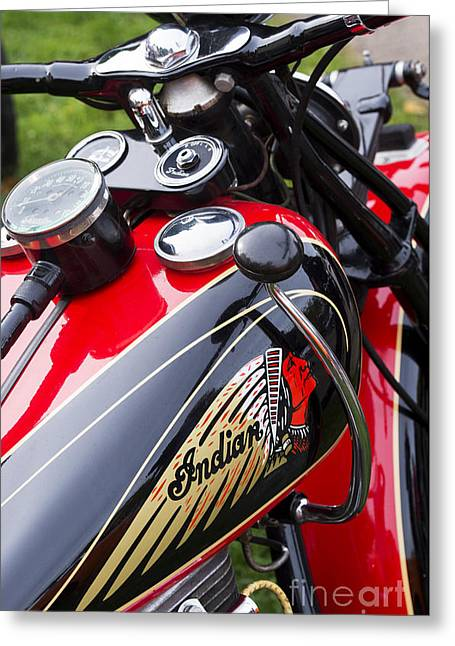 Clutch Greeting Cards - Red and Black  Greeting Card by Tim Gainey