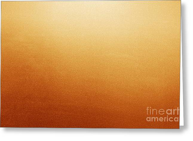 Frosted Glass Greeting Cards - Red and yellow frosted glass background Greeting Card by Michal Bednarek