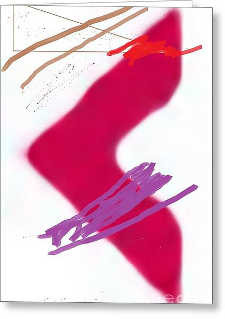 Calcium Phosphate Greeting Cards - Red Arrow Greeting Card by Matteo TOTARO