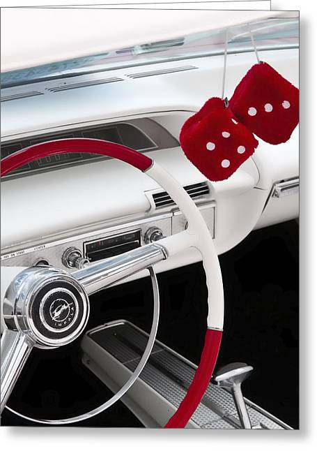 Phil Motography Clark Greeting Cards - Red Dice Greeting Card by Phil