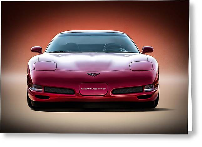 Chevy Greeting Cards - Red Greeting Card by Douglas Pittman