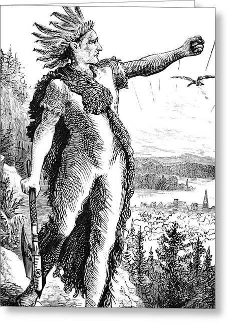 Red Eagle, William Weatherford, Creek Greeting Card by British Library