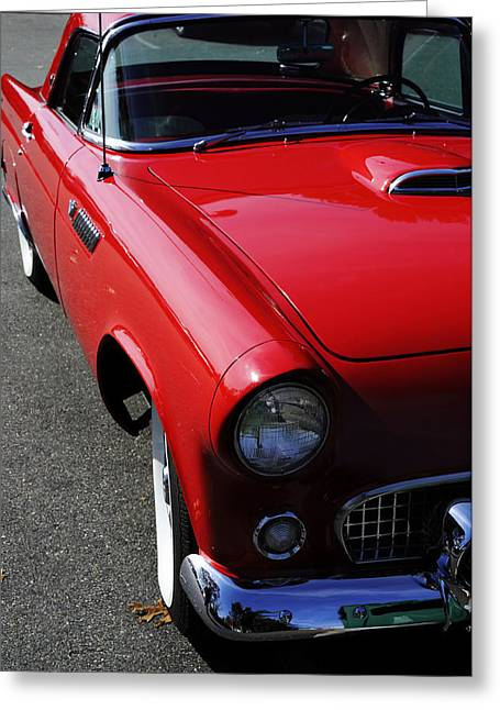 Fanatic Photographs Greeting Cards - Red Hot Thunderbird Greeting Card by Luke Moore