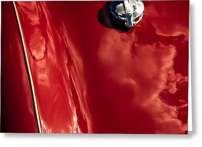 Red Jupiter Sky Greeting Card by Phil 'motography' Clark