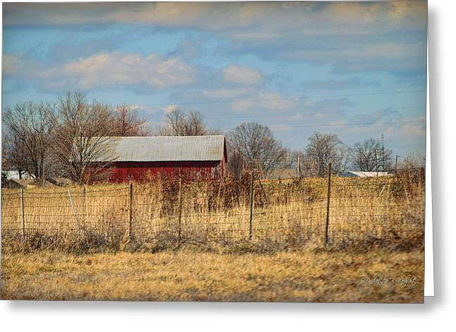 Top Seller Greeting Cards - Red Kentucky Relic Greeting Card by Paulette B Wright