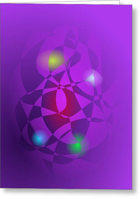 Gradations Digital Art Greeting Cards - Red Mango Greeting Card by Masaaki Kimura