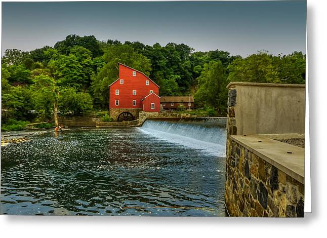 Red Mill Historic Village Greeting Cards - Red Mill of Clinton Greeting Card by Capt Gerry Hare