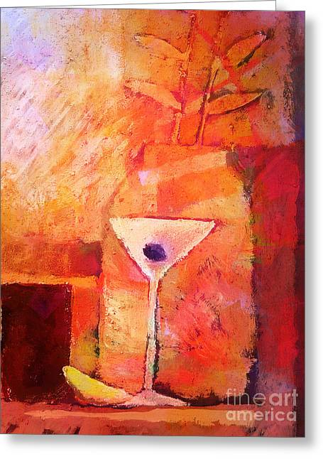 Still Life Artwork Greeting Cards - Red Mood Greeting Card by Lutz Baar