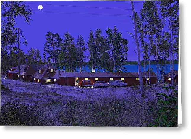 Kirkland Greeting Cards - Red Pines Greeting Card by Mark Didine