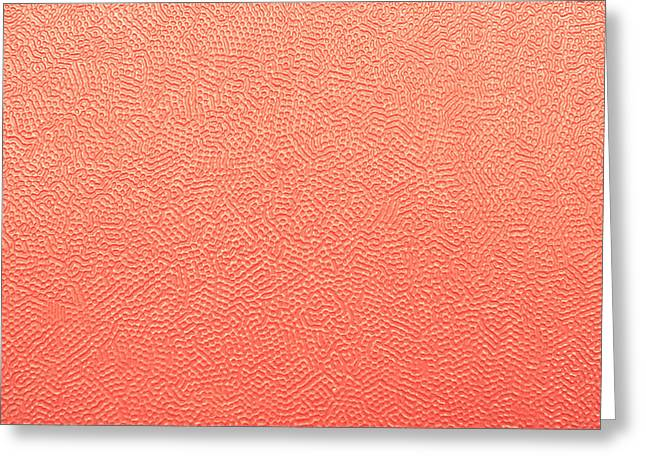 Backdrop Greeting Cards - Red plastic Greeting Card by Tom Gowanlock