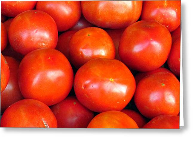 Farm Stand Greeting Cards - Red Ripe and Ready Greeting Card by Steve C Heckman