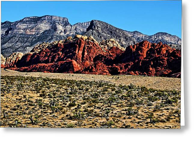 Layer Greeting Cards - Red Rock Canyon 2 Greeting Card by Judy Vincent