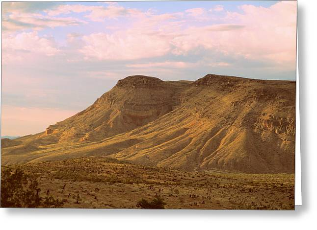 Scenic Drive Greeting Cards - Red Rock Canyon 2014 Number 3 Greeting Card by Randall Weidner
