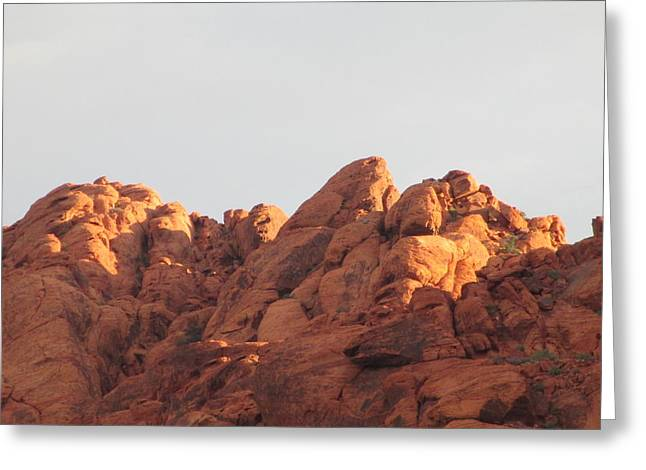 Scenic Drive Greeting Cards - Red Rock Canyon 2014 Number 6 Greeting Card by Randall Weidner