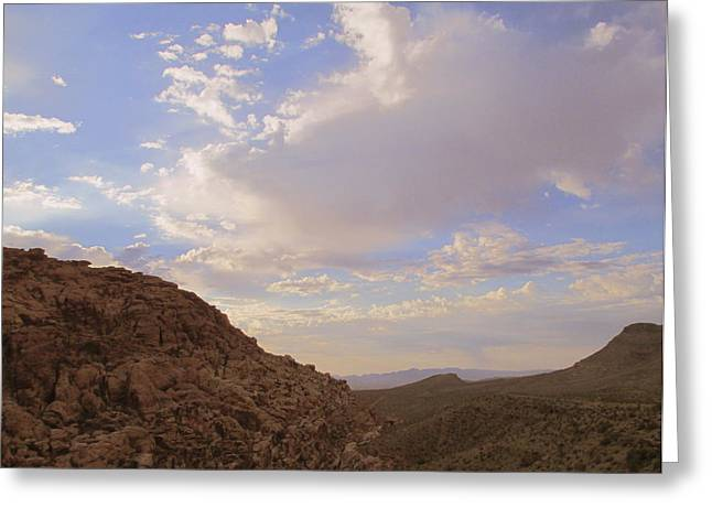 Scenic Drive Greeting Cards - Red Rock Canyon 2014 Number 7 Greeting Card by Randall Weidner
