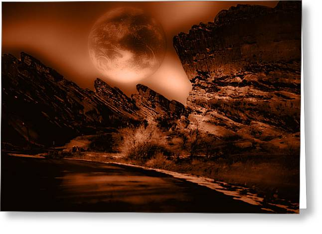Kellice Greeting Cards - Red Rocks Greeting Card by Kellice Swaggerty