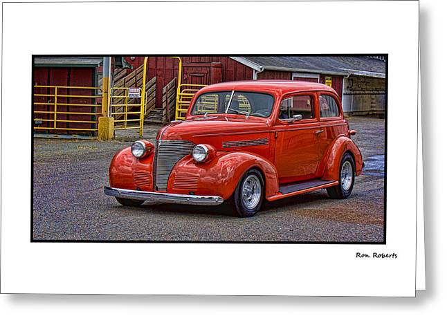 Ron Roberts Photography Framed Prints Greeting Cards - Red Rod Greeting Card by Ron Roberts