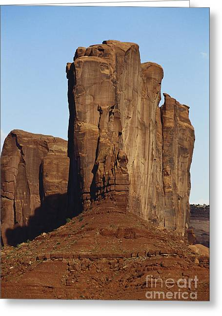 Monolith Greeting Cards - Red Sandstone, Canyon De Chelly Greeting Card by Adam Sylvester