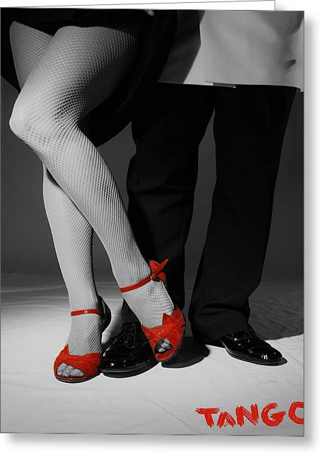 Red Shoes Greeting Card by Doug Walker