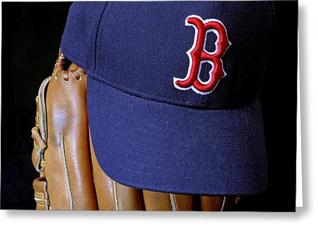 Red Sox Nation Greeting Card by John Van Decker