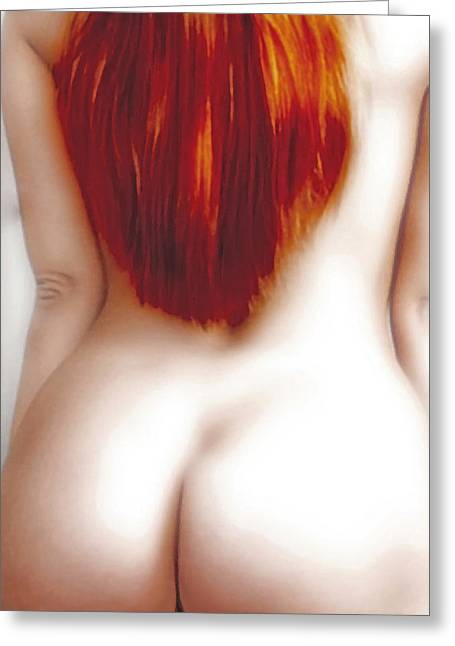 Emotions Greeting Cards - Red Temptation Greeting Card by Joachim G Pinkawa